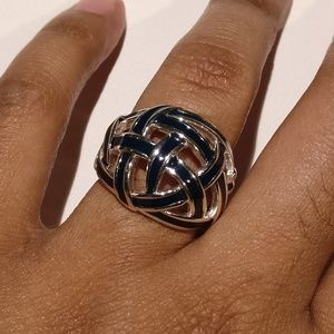 Banana Republic Domed Open Weave Ring